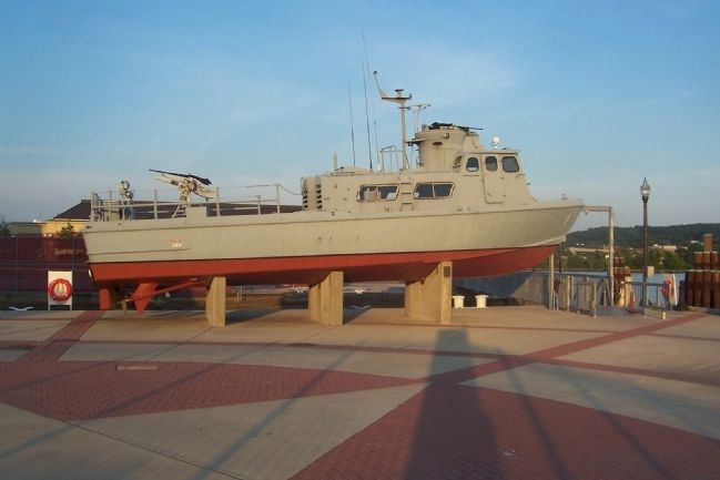 Swift Boat on Display, Washington Navy Yard image. Click for full size.
