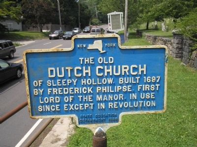 The Old Dutch Church Marker image. Click for full size.