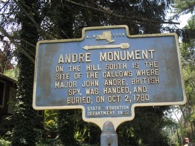 Andre Monument Marker image. Click for full size.