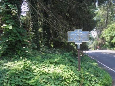 Marker on Old Tappan Road image. Click for full size.