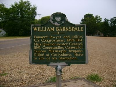 William Barksdale Marker image. Click for full size.