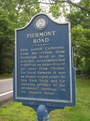 Piermont Road Marker image. Click for full size.