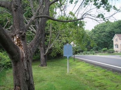 Marker on Piermont Road image. Click for full size.