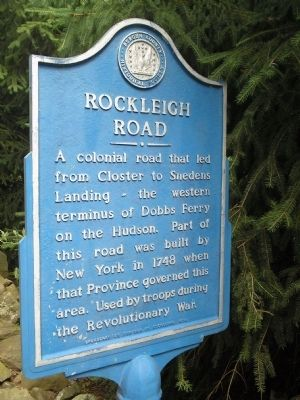 Rockleigh Road Marker image. Click for full size.