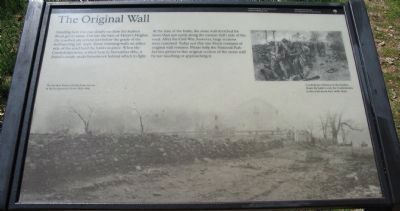 Original Wall Marker image. Click for full size.