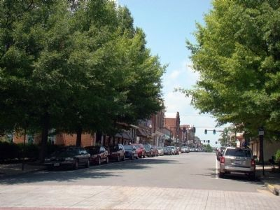 View of East Davis Street from Commerce Street image. Click for full size.