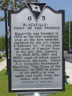Blackville : Town Of The Phoenix image. Click for full size.