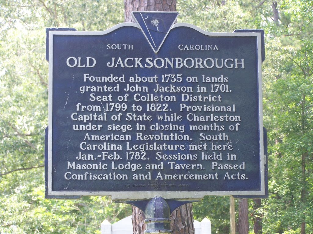 Old Jacksonborough Marker