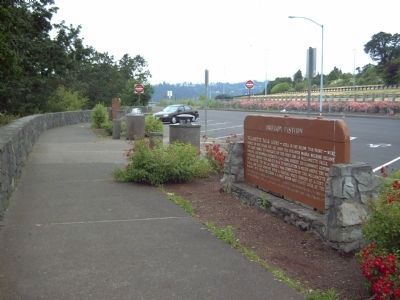 Willamette Falls Locks Marker image. Click for full size.