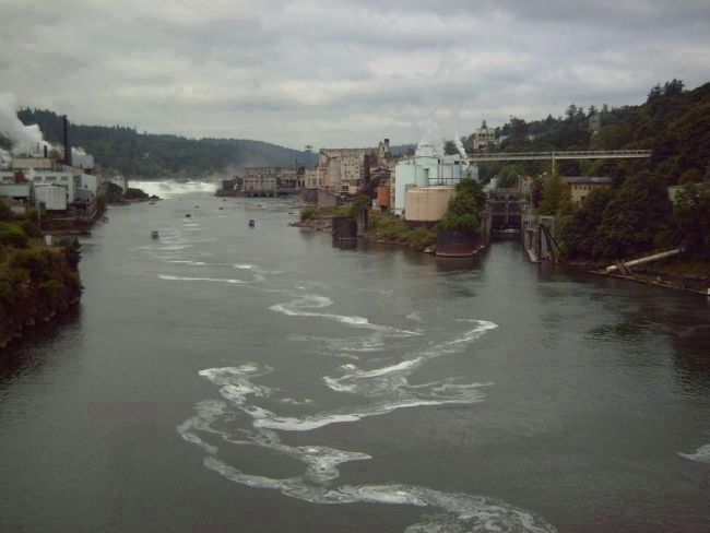 Willamette Falls Locks image. Click for full size.