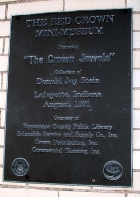 The Red Crown Mini-Museum Marker image. Click for full size.