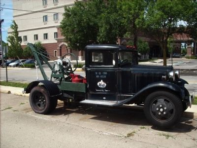 Old Station Tow Truck image. Click for full size.