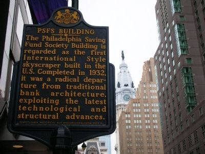 PSFS Building Marker image. Click for full size.