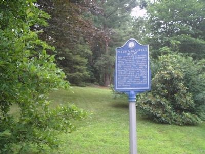 Marker on Tappan Road image. Click for full size.