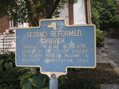 Second Reformed Church Marker image. Click for full size.