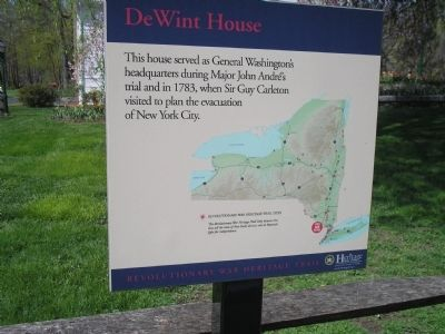 DeWint House Marker image. Click for full size.
