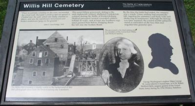 Willis Hill Cemetery Marker image. Click for full size.