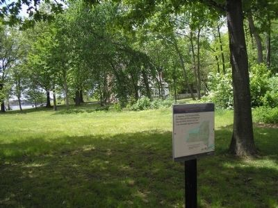 Marker on Staten Island image. Click for full size.