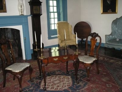Conference House Parlor image. Click for full size.