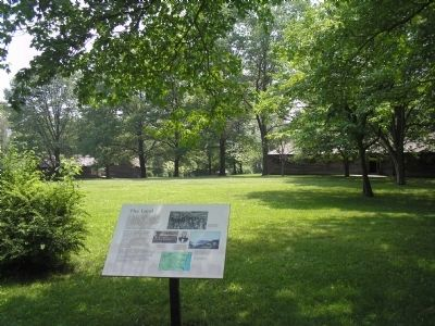 Marker in New Windsor Cantonment image. Click for full size.