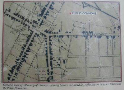 The 1860 Map of Hanover image. Click for full size.