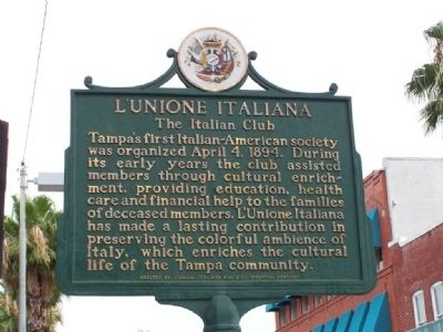 L'Unione Italiana Marker image. Click for full size.