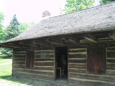 Soldier Hut at New Windsor Cantonment image. Click for full size.