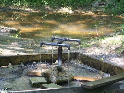 God's Acre Healing Springs as seen today image. Click for full size.