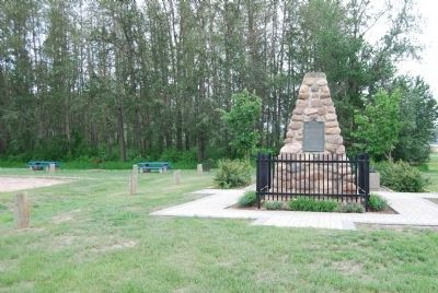 Methye Portage Monument image. Click for full size.