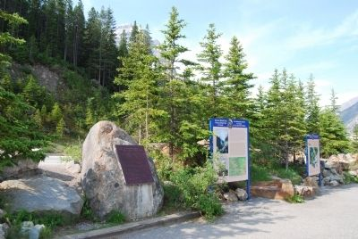 Wideview of Kicking Horse Pass Marker image. Click for full size.