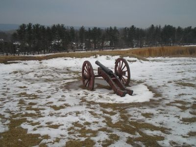 Cannon and earthworks image. Click for full size.