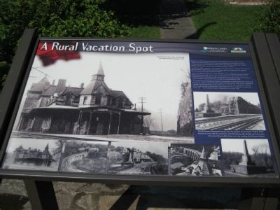 A Rural Vacation Spot Marker image. Click for full size.