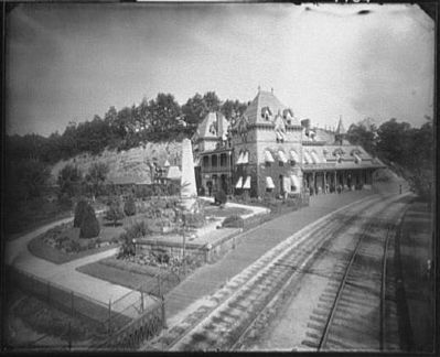 1890s View of the Station Hotel image. Click for full size.