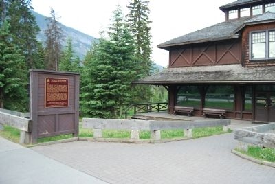 Wideview of Banff Park Museum Marker image, Touch for more information