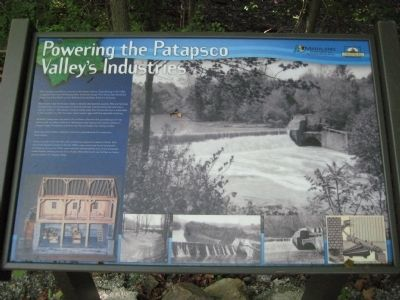 Powering the Patapso Valley's Industries Marker image. Click for full size.