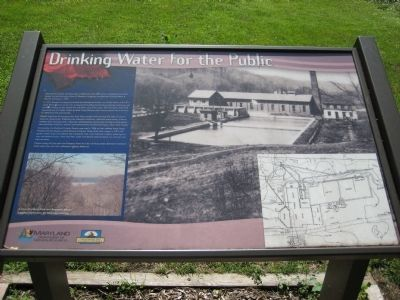 Drinking Water for the Public Marker image. Click for full size.