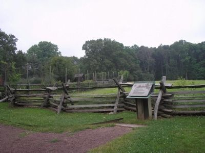 Marker at Jockey Hollow image. Click for full size.