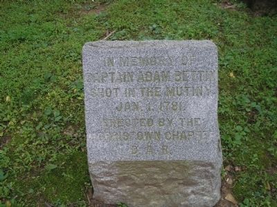 Captain Adam Bettin Marker image. Click for full size.