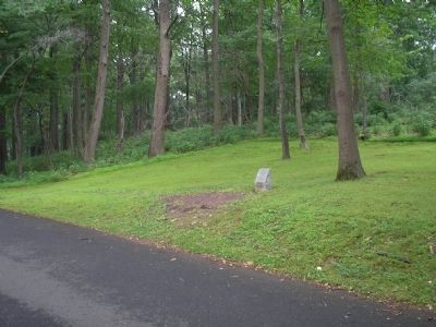 Marker on Jockey Hollow Road image. Click for full size.