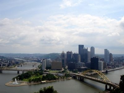Pittsburgh from the Upper Station Observation Deck image. Click for full size.