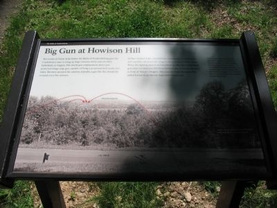 Big Gun at Howison Hill Marker image. Click for full size.