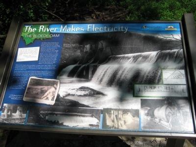 The River Makes Electricity Marker image. Click for full size.