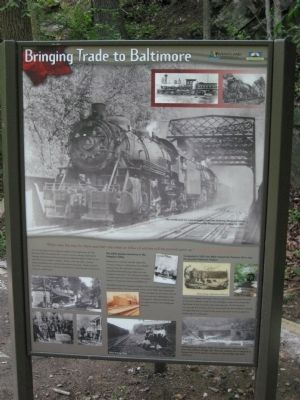 Bringing Trade to Baltimore Marker image. Click for full size.