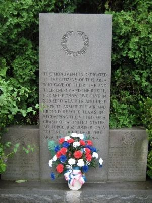Mountain District American Legion Monument image. Click for full size.