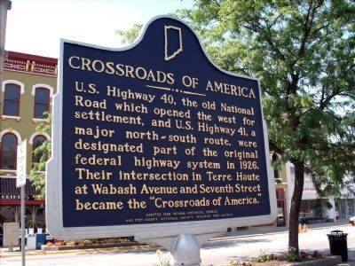 Crossroads of America Marker image. Click for full size.