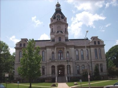Parke County Court House image. Click for full size.