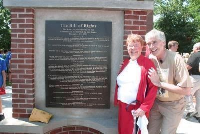 The Bill of Rights Monument image. Click for full size.
