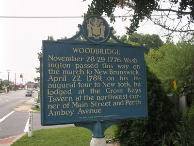 Woodbridge Marker image. Click for full size.