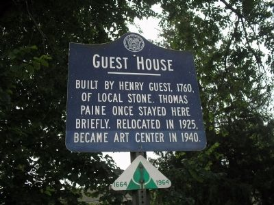 Guest House Marker image. Click for full size.