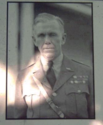 1937 Portrait of General Marshall from the Marker image. Click for full size.